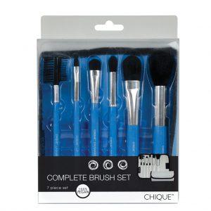 Set 6 pensule complet CHIQUE machiaj fata BLUE - BQU COMSET BL1 300x300