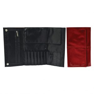 Trusa pentru pensule de machiaj S.I.L.K® Red Patent Brush Wrap - BWRAP 11 300x300