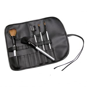 Husa pentru pensule de machiaj S.I.L.K® Black 7 Compartment - BWRAP 7BK 300x300