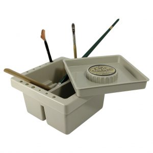 "Recipient curatare pensule machiaj 6.25"" x 6.25"" Square Brush Basin - RD325 3 1024x1024 300x300"