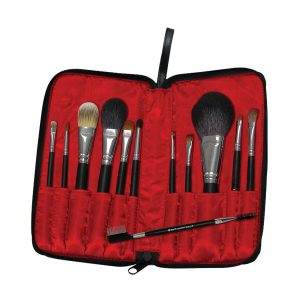 Trusa de calatorie 12 pensule machiaj Travel Zip Case - Trusa de calatorie 12 pensule machiaj Travel Zip Case 1 300x300