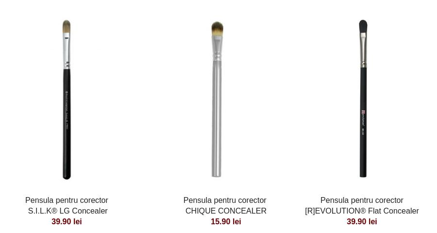 5 pensule de machiaj pe care orice femeie ar trebui sa le aibă - pensule machiaj corector