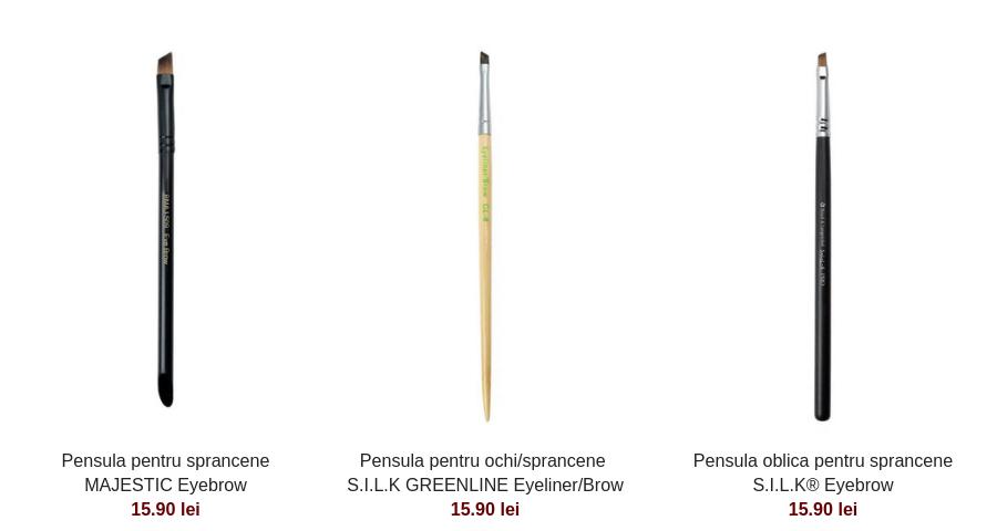 5 pensule de machiaj pe care orice femeie ar trebui sa le aibă - pensule machiaj sprancene