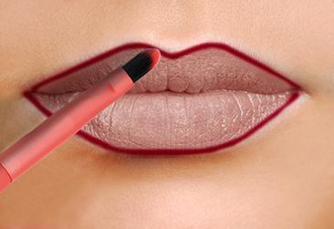 TUTORIAL - Cum se realizează machiajul buzelor - LL img1