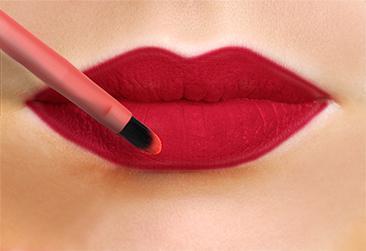 TUTORIAL - Cum se realizează machiajul buzelor - LL img2